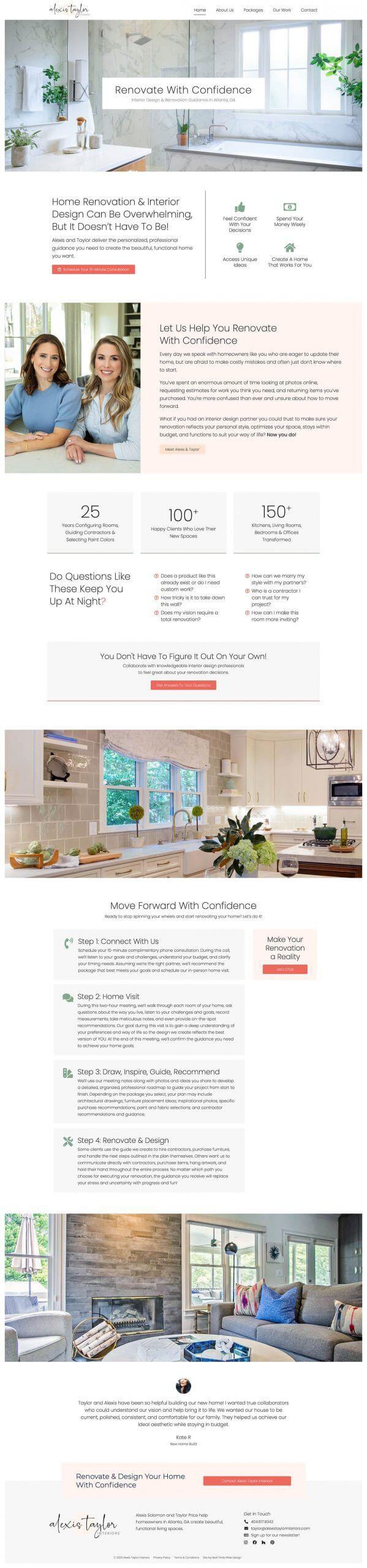 Interiors Web Design
