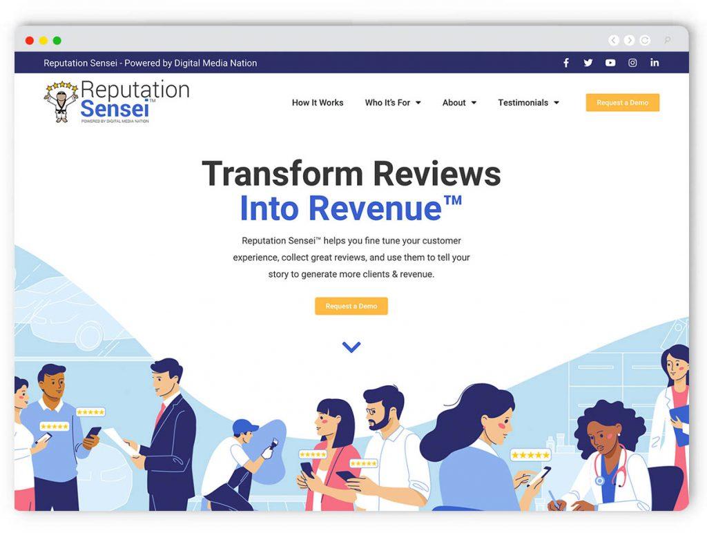 Reviews Web Design