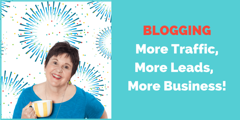 blogging more traffic, more leads, more business