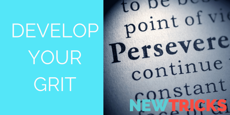 develop your grit